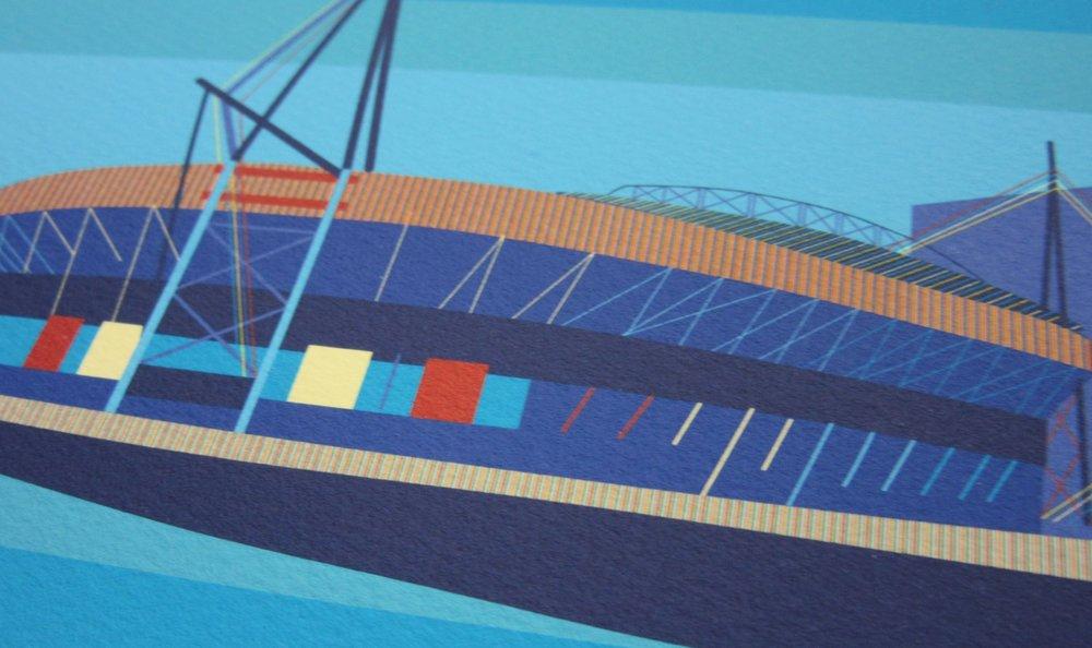 Millennium Stadium_Bespoke_Art Commission