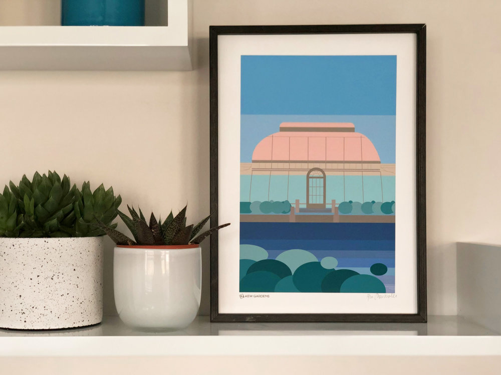 Kew Gardens Print  from £14.00