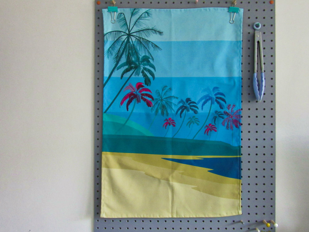 ©SouthIslandArt-palm-tree-tea-towel