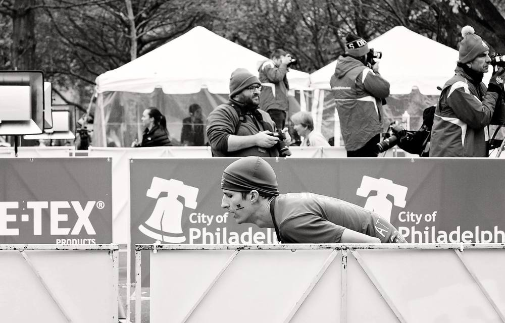 2015 Philadelphia Marathon Finish Line
