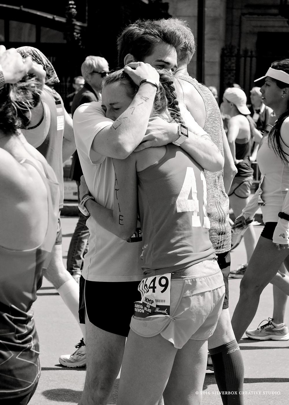 Boston Marathon Finish Line 2016