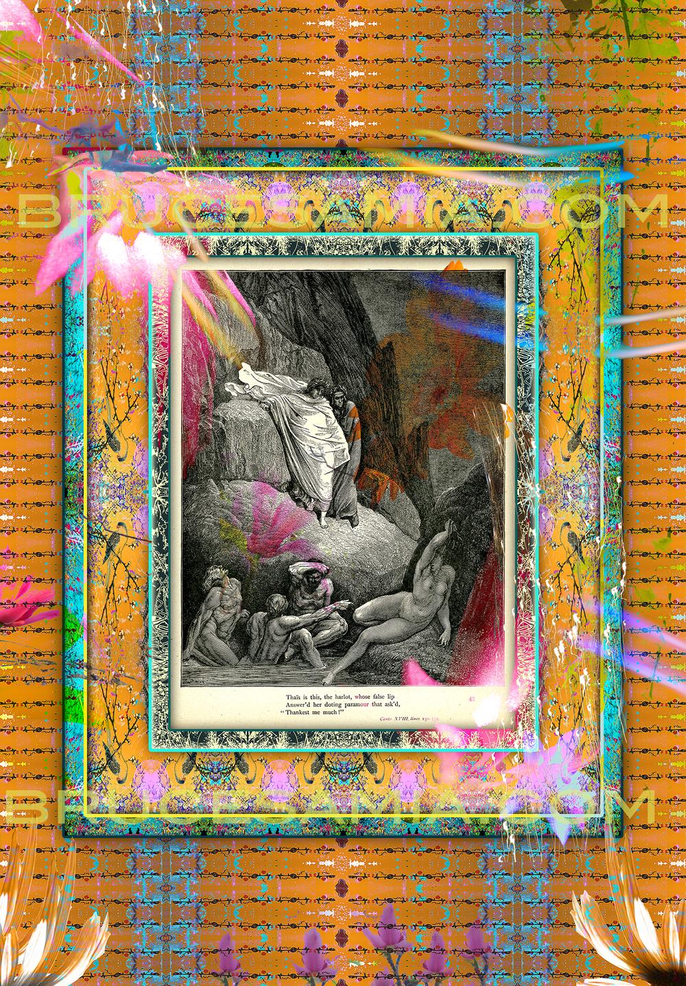 5.danté collage Canto XVIII (lines 130-132) ed.25