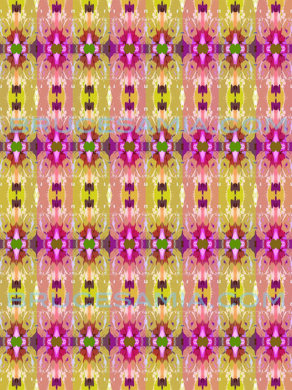10.stripe-fleur-yellow-pink-24x32