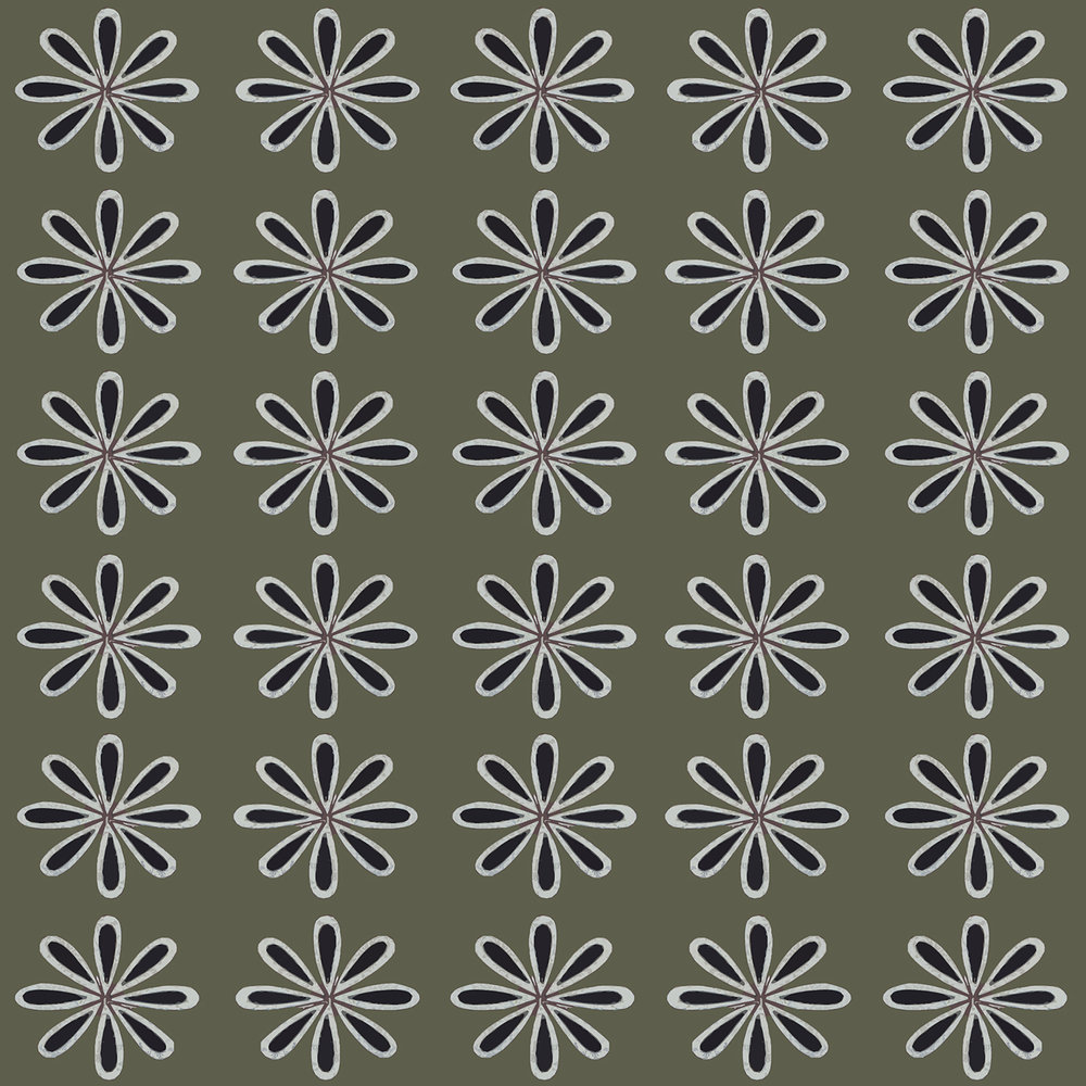 GETTY-FLEUR-GREY TILE