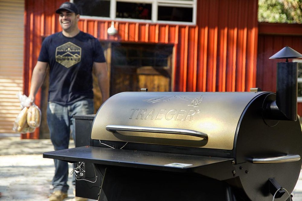 """The 34 Pro Series is our go to for every big gathering where we need a long consistent smoke or to crank up the heat and load up the grill with venison burgers.""   Photo by Matt Katsolis"