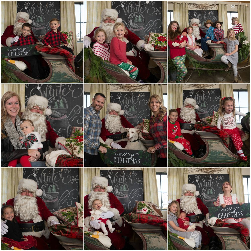 Santa Pictures by Adam V. Simmons Photography