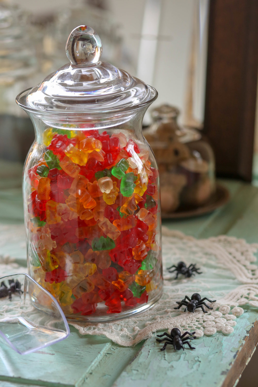 Candy bar jars available