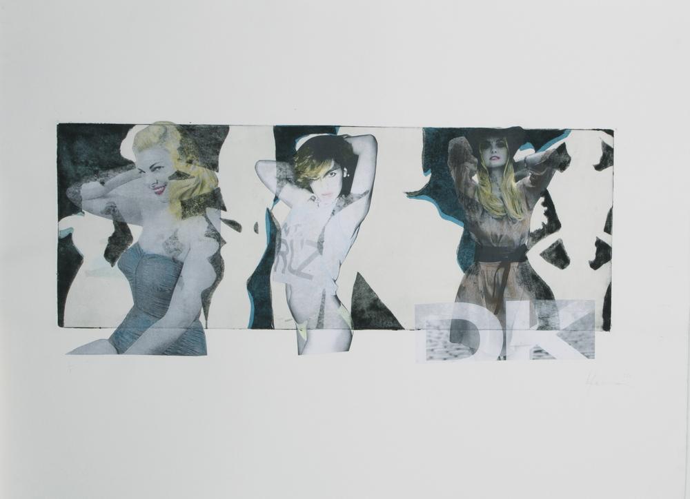 "30"" x 22"" Intaglio with Chine Cole 2010"