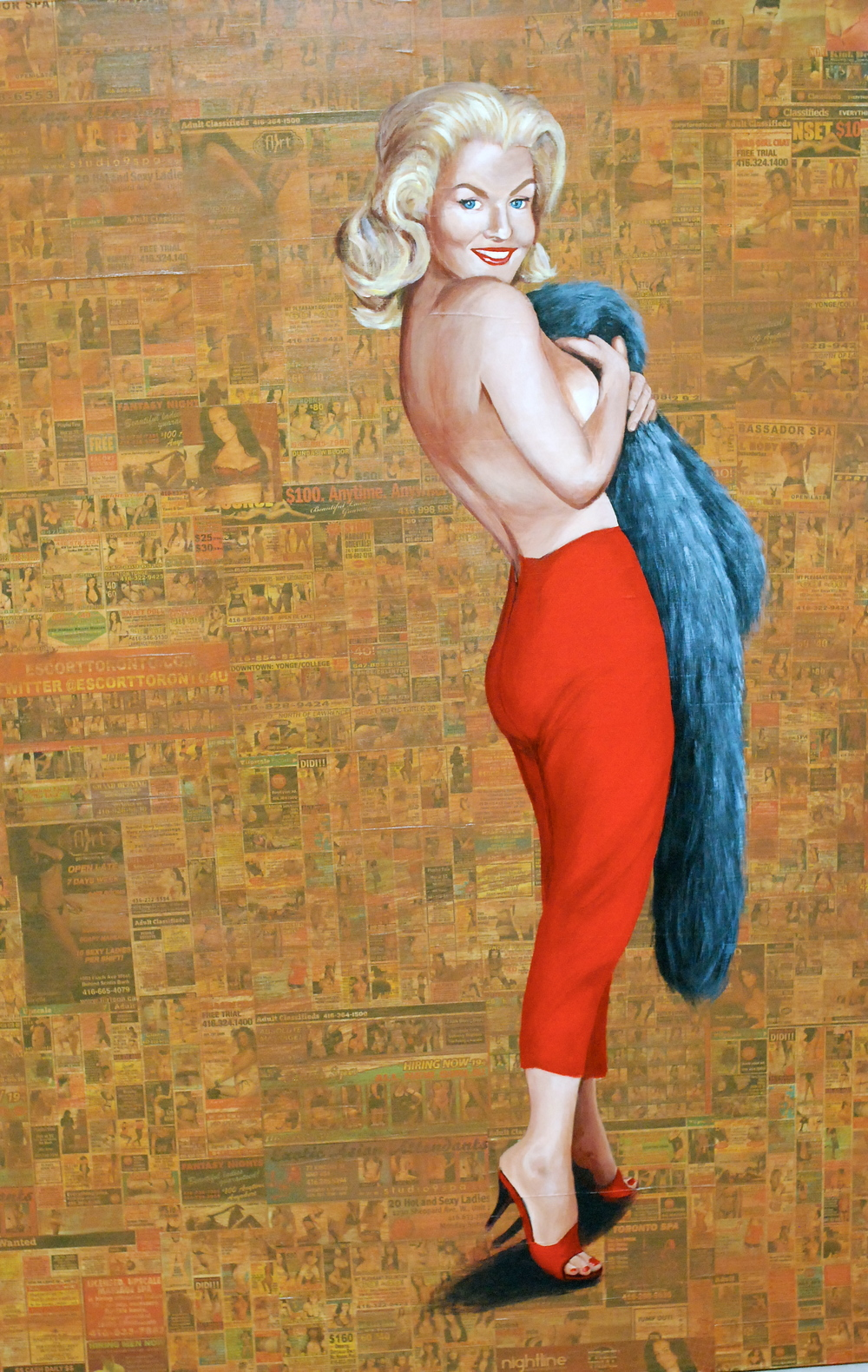 Miss October Sheehan 1958