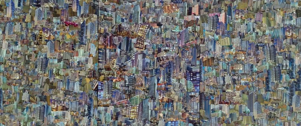 Condoscape (colour triptych)