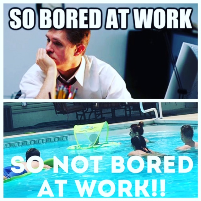 "This was a ""work day"" for me last month with one of my girlfriends and our kids!  I create my own goals and deadlines and I don't have a boss I don't like breathing down my neck."