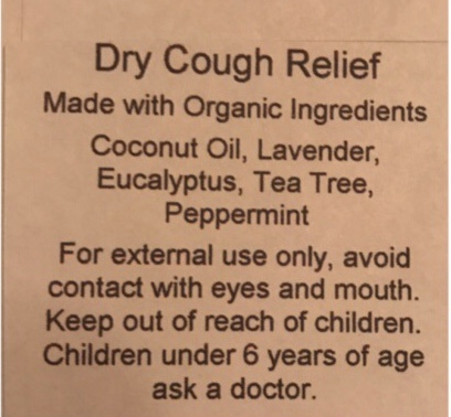 Awesome natural way to help provide relief when fighting a dry cough!