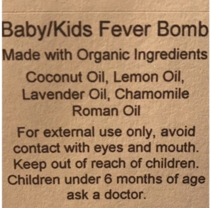 Fevers are our body's way of fighting off an infection and shouldn't be feared! If you are looking for a natural way to provide your little one relief while fighting a fever this is for you!
