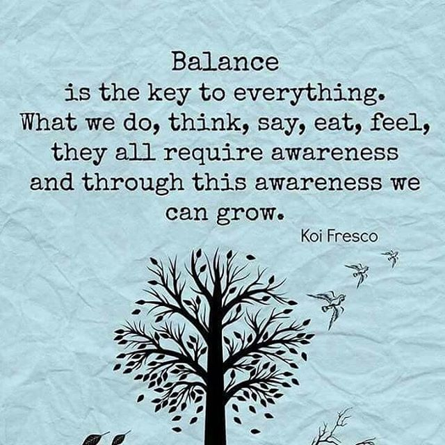 Balance is KEY. Check out our latest video on @youtube as we tackle this topic and share how we find our own balance to help you find yours. Subscribe and share. YouTube link in the bio. Namaste 🙏🏼