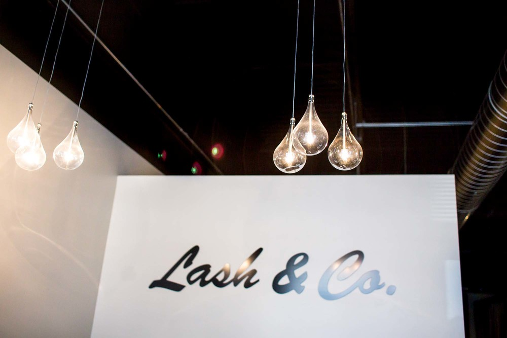 Lash & Co. Front Desk