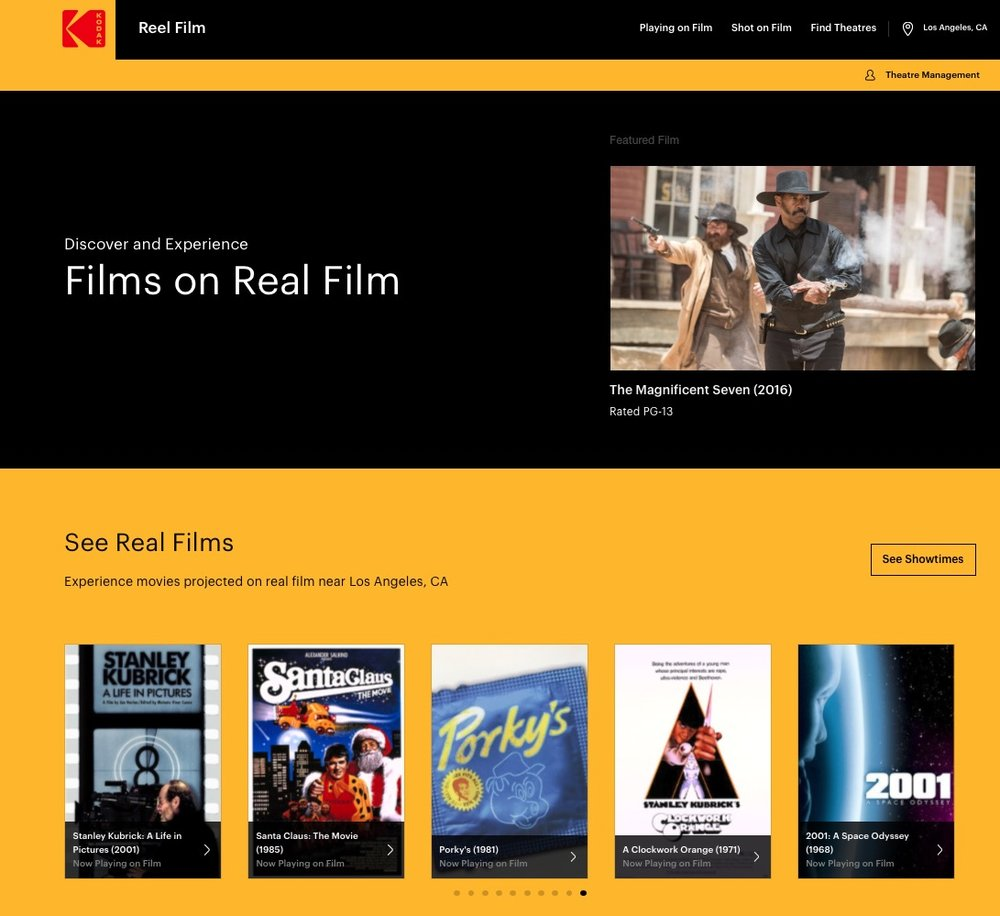 APPS WE LOVE :: KODAK - REEL FILM — FRIENDS WE LOVE