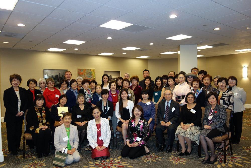2015年新年総会と奨学金授与式