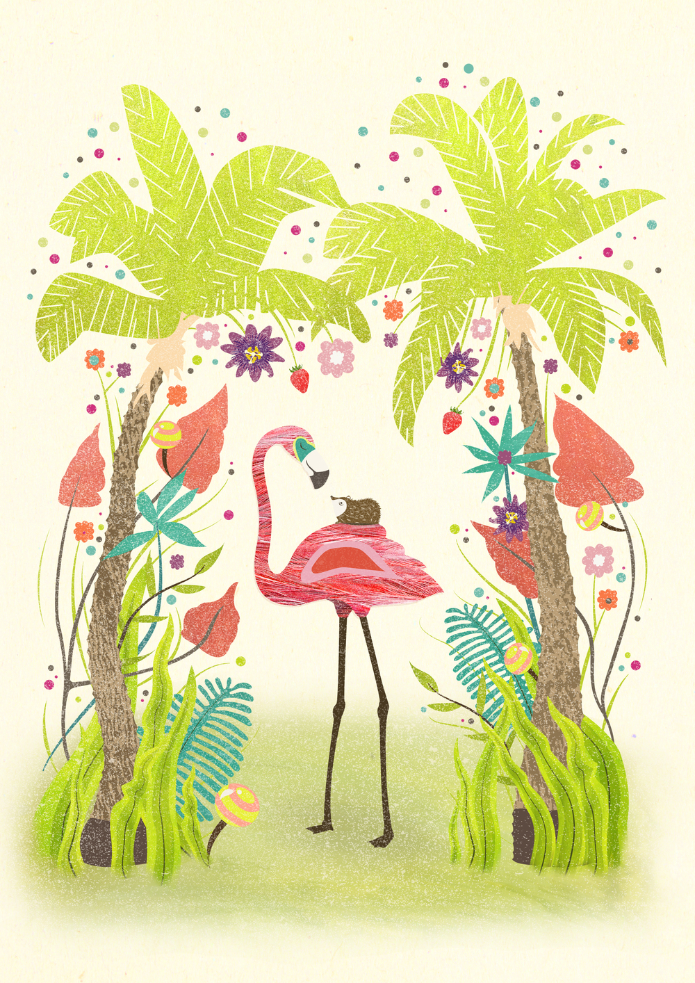 Flamingo and Hedgehog small.jpg