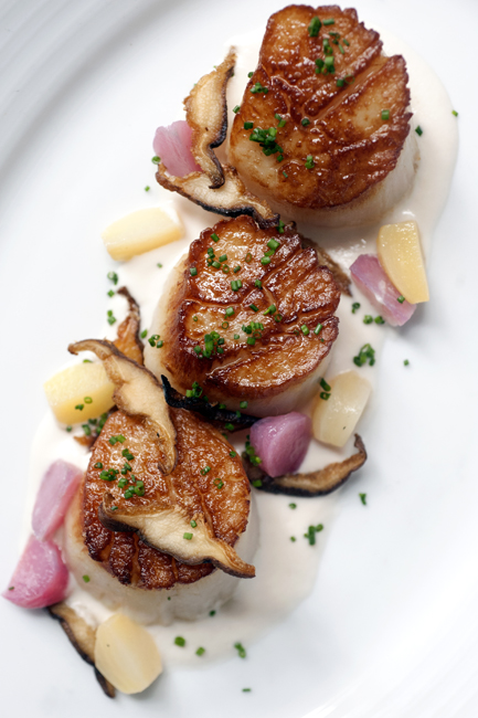 NEW ENGLAND KITCHEN Seared Sea Scallops with Crispy Shiitake Mushrooms _MHT9803.jpg