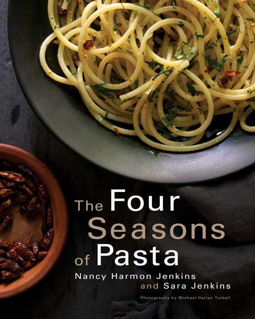 The Four Seasons of Pasta cover Nancy Harmon Jenkins and Sara Jenkins.jpg