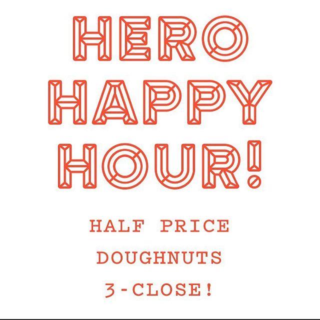 Yo!!!! #herodoughnuts