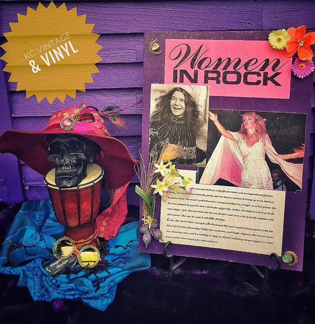Just a few things that we made for @bohemiancultrevival! BCR has two shows tonight at @thepearlkc 7pm and 10pm A Tribute to Janis Joplin and Stevie Nicks!!!! These items will be available via auction before each showtime along with a dope ass prize pack chock full of other local shop goodies!! BCR is Burlesque Theater at its best!!!! Peep them on FB, Eventbrite and www.bcr.rocks for tix!! Help local performance art continue to art! ~Danger & Frankie  #bcrkc #kcvintageandvinyl #kansascity #kc #handmade #dangeralexboutique #janisjoplin #stevienicks #witchywoman #golddustwoman #pinkfordays #womenofrock #groovy #thingstodoinkansascity #kcevents #thecrossroads