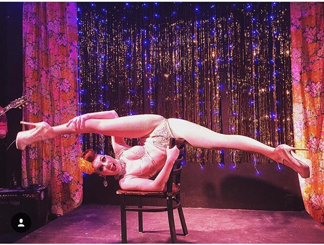 @missaudacious murdered it dead at last nights @luxoticaloungecabaret show at @thepearlkc Thanks for comin through Kansas City! #burlesque #cabaret #girlcrush #varietyshow ~Danger