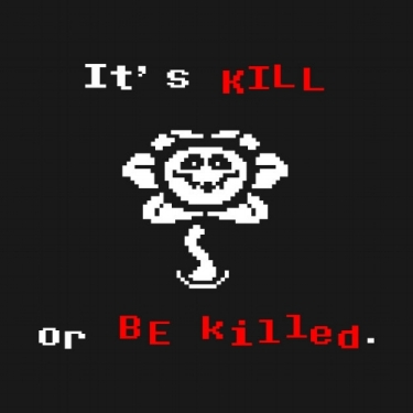 Flowey, an antagonist from Toby Fox's  Undertale .