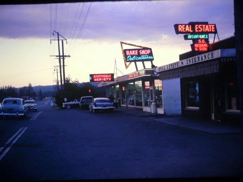 9242 Silverdale Way NW, circa 1960s