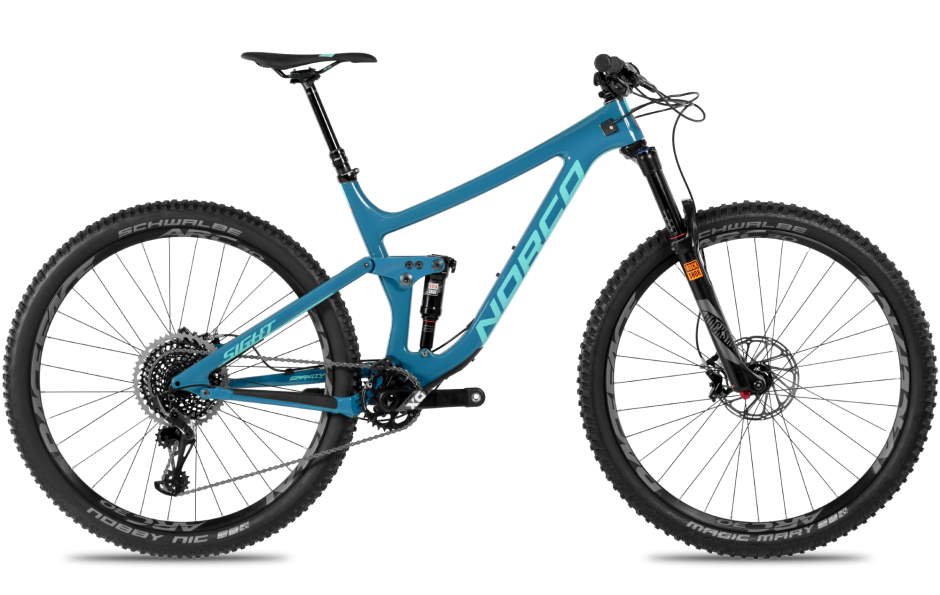 New for 2018, these are the complete package for all mountain and endure riding. A short, ultra-stiff rear end, low BB and slack head angle create a ride that begs to be ridden fast and far.  Available in both 27.5 and 29er wheel sizes!