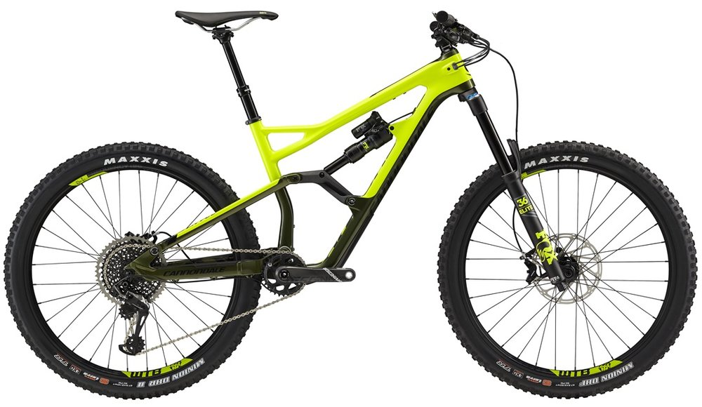 All new designs from Cannondale bring you the Stage Ready 2018 Jekyll and the All-Mountain, All-Day Trigger. Sporting seriously aggressive geometry and tons of travel with the all new Gemini suspension design, these bike serve some serious gnar!