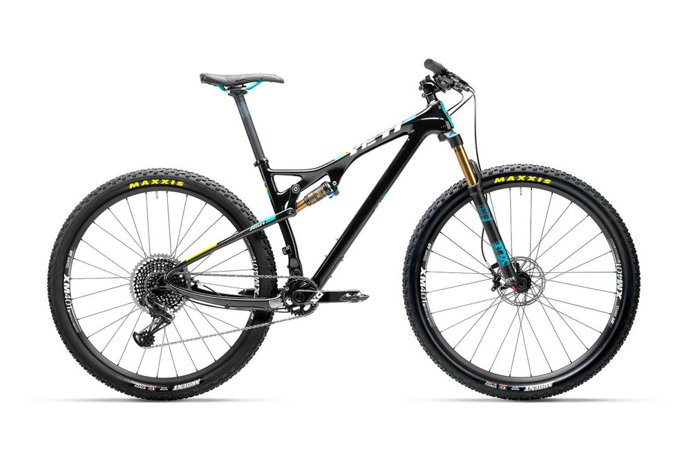 """The ASR is a cross-country race machine with an appetite equally hungry for ascending as it is for descending. Yeti has optimized every part of the frame to achieve an incredibly lightweight efficient ride. The result is an extremely capable 4"""" travel mountain bike that transitions with ease from the burly trails of the Colorado Front Range to your local XC race loop."""