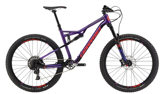 2017 Cannondale Habit Carbon SE, was $4199, NOW $2985! Beefed up, long travel version of the super versatile Habit. Huge discount on a bike that will take you to the next level!