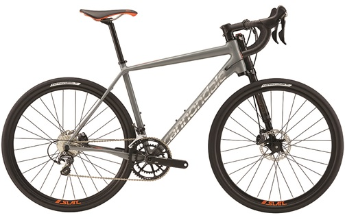 2017 Cannondale Slate Ultegra, was $3399, NOW $2388! Upgraded version of the Slate with Ultegra components and R685 levers and hydraulic brakes. Go EVERYWHERE!