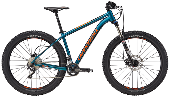 2017 Cannondale Cujo 2, was $1190, NOW $799! Better components on a plus bike, all at a major discount. 29er wheels will fit on this plus frame, making an even more versatile bike!