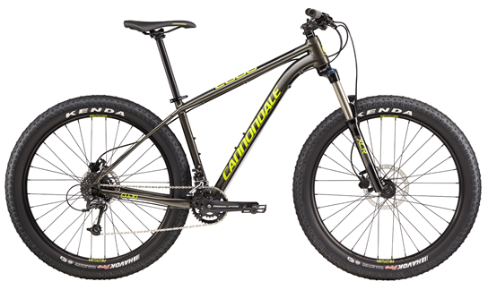 2017 Cannondale Cujo 3, was $980, NOW $699! Nice discount on a 27.5+ hardtail! Do-everything bike with amazing traction!