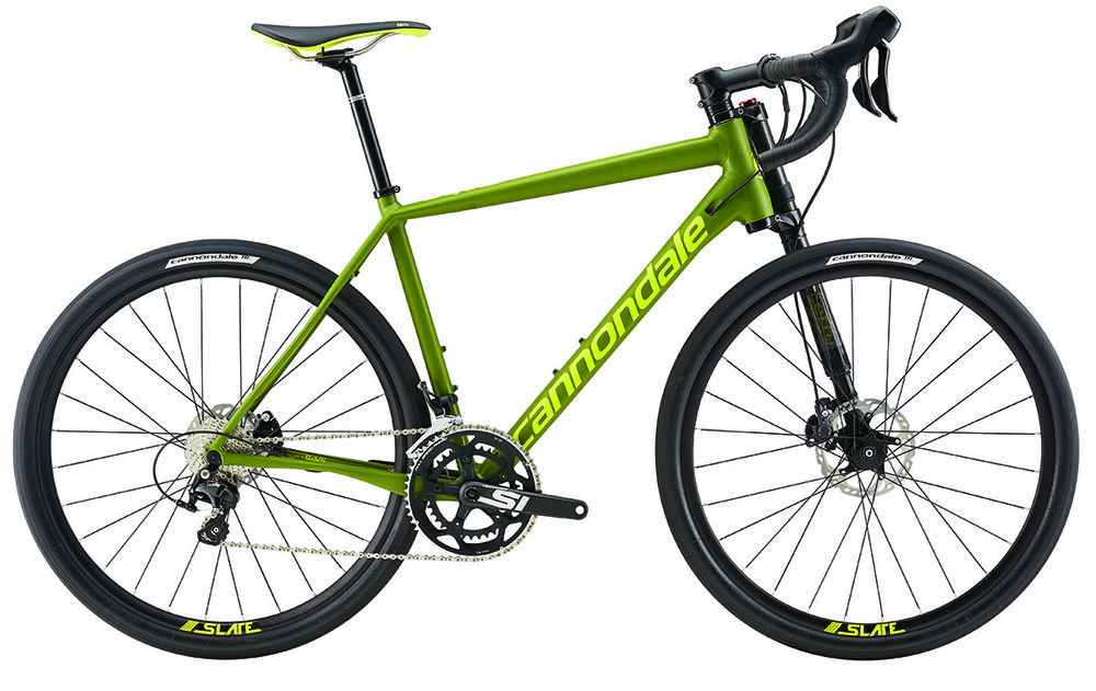 2017 Cannondale Slate 105, was $2899, NOW $1999! The ultimate gravel and commuter bike. Features hydraulic disc brakes, 650b wheels, and Lefty Oliver Carbon suspension fork!