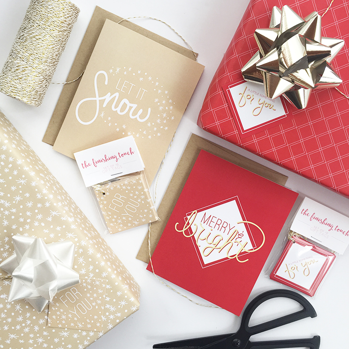 Leighwood Paperie >> Shopping Small for the Holidays: Your first look at the holiday collection + a bonus offer