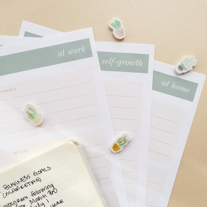 Leighwood Paperie >> Make 2017 Your Best Year Yet: A reflection on 2016 and your goal planning worksheets