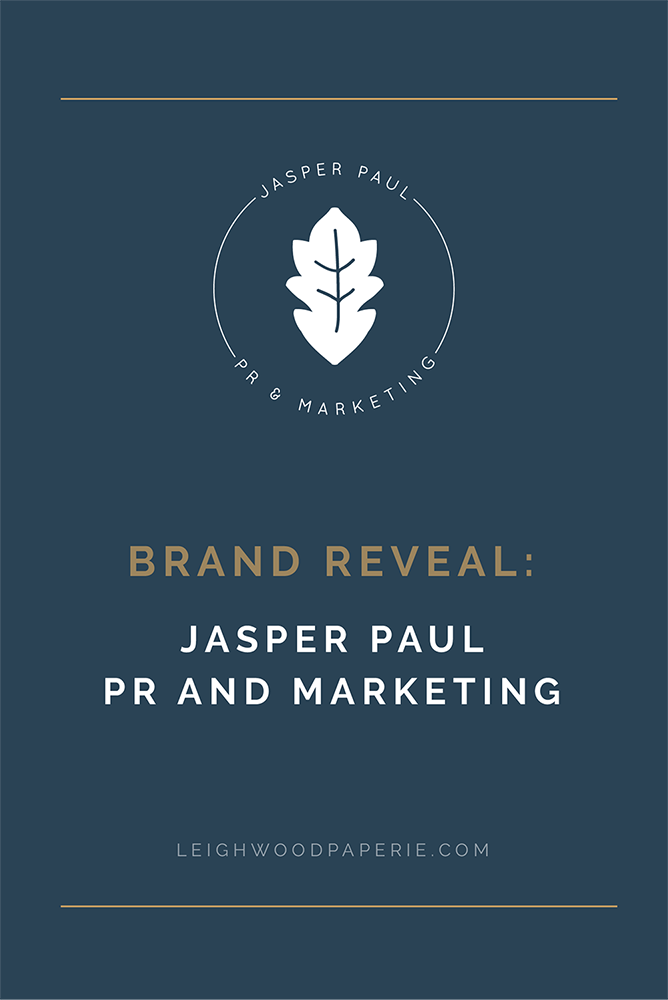 Leighwood Paperie & Design Studio | Jasper Paul PR and Marketing Brand Reveal