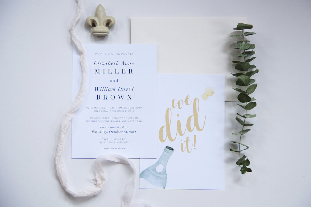 Amanda is a hugely talented artist and designer and a highly reliable professional—she will deliver exactly what you're dreaming of and make the process fun and special every step of the way. - Liz & Billy, Custom Save the Dates