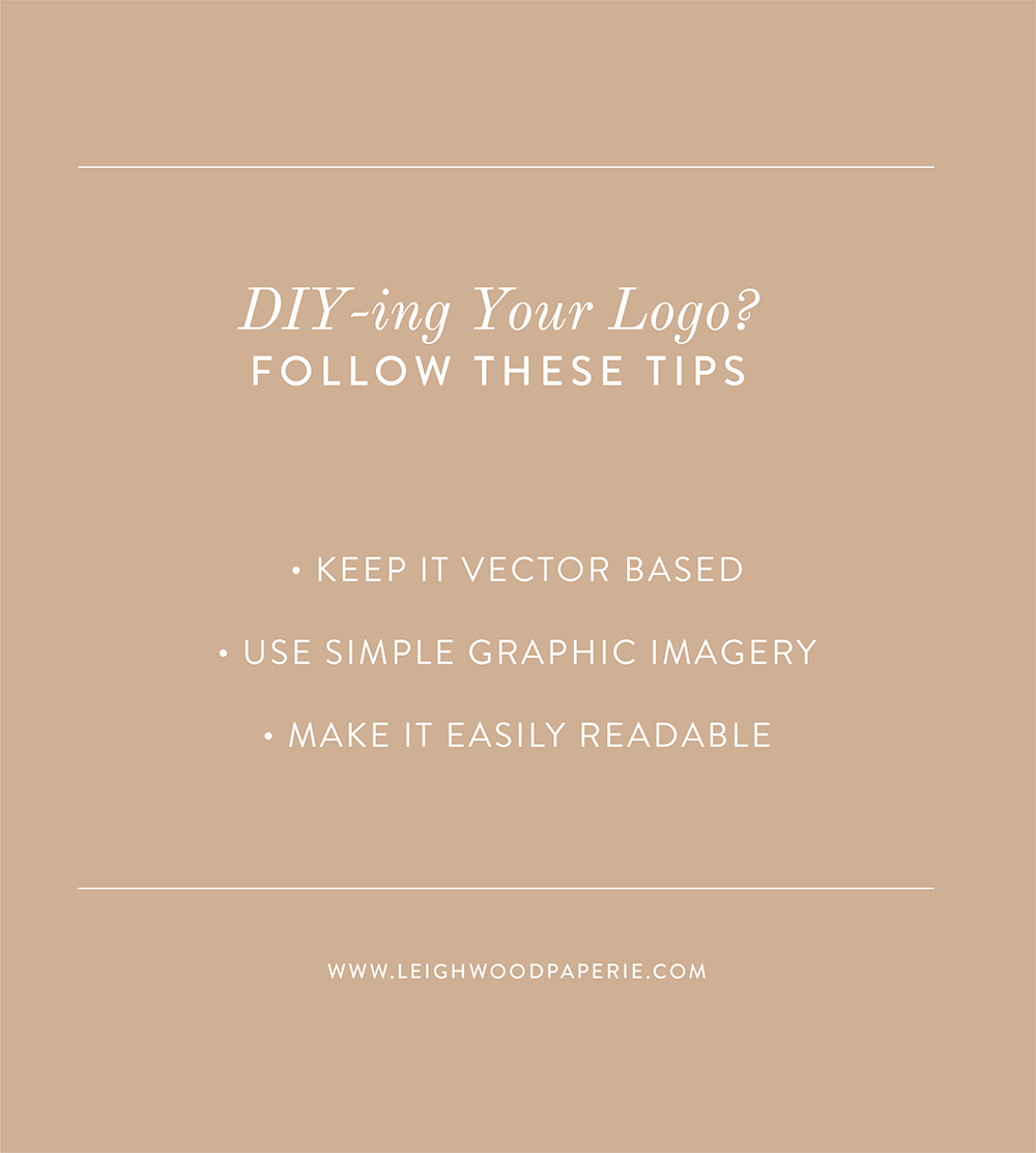 Leighwood Paperie >> The Branding Process: So you want to DIY your logo (Read these tips first) | Brand design from Leighwood Paperie