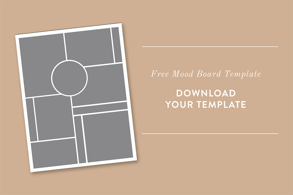 Leighwood Paperie >> Download a free mood board template