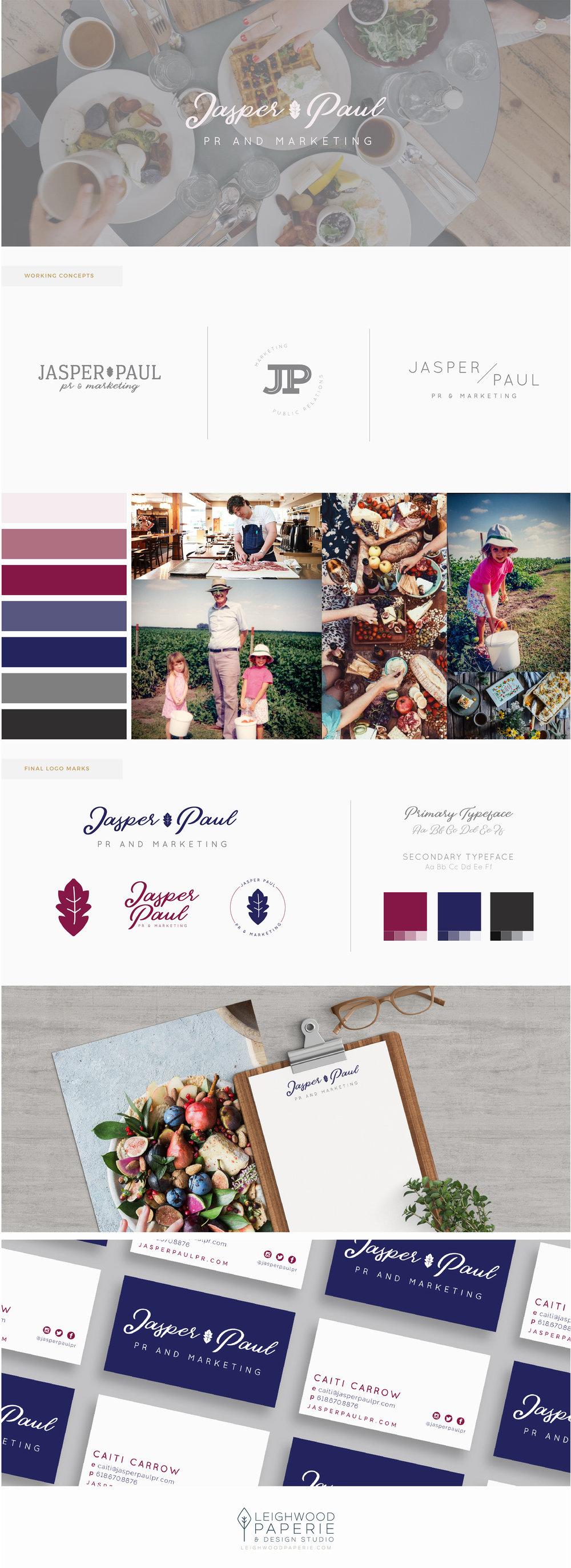 LeighwoodPaperie | BrandingPortfolio | JasperPaul PR & Marketing