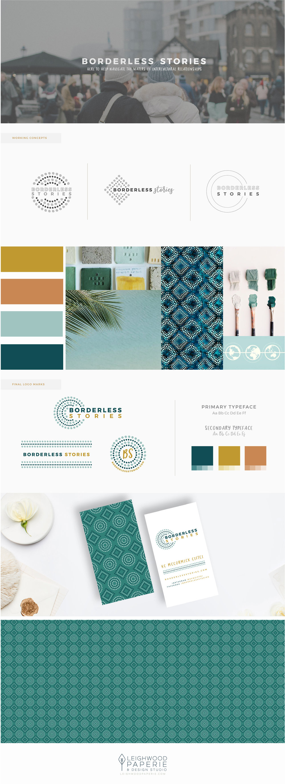 Leighwood Paperie | Branding Portfolio | Borderless Stories