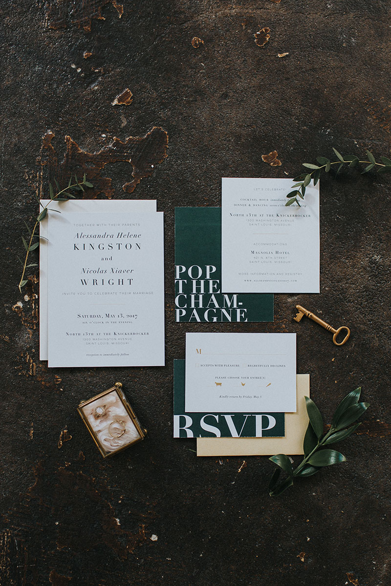 100 Layer Cake - Modern Romantic Loft Wedding Inspiration
