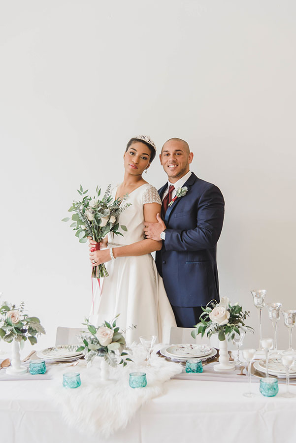 Chic and contemporary styled shoot at Slate Events in Downtown St. Louis   Leighwood Design Studio