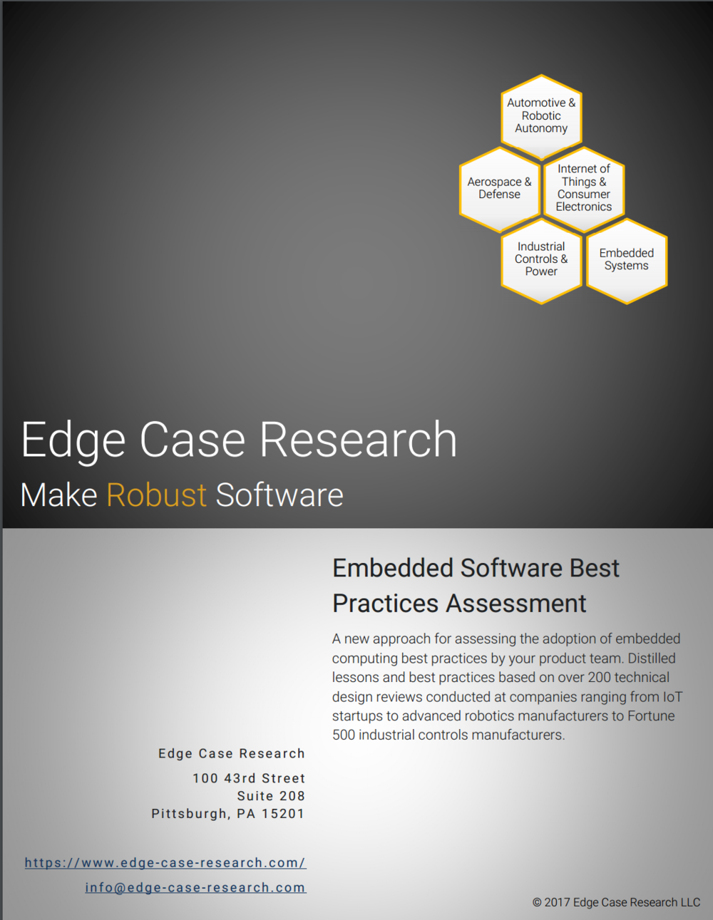 Click on the image above for more information on how to improve your embedded software