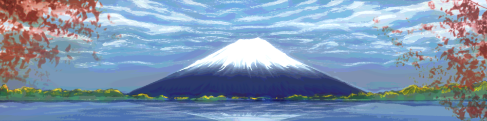 """Mt. Fuji"" in-game mural"