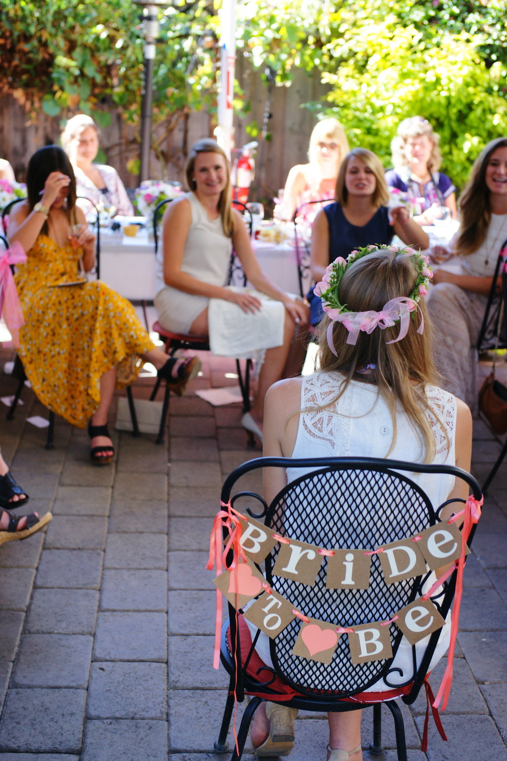 Bridal Shower on the Central Patio